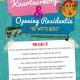 Kaartverkoop gala & Opening residentie